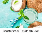 healthy food concept.  fresh... | Shutterstock . vector #1034502250