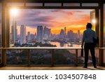 young entrepreneurial vision ... | Shutterstock . vector #1034507848