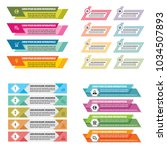 business infographic templates...   Shutterstock .eps vector #1034507893