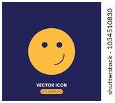 happy vector icon illustration