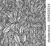 vector seamless black and white ... | Shutterstock .eps vector #1034520214