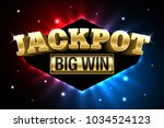 jackpot  gambling casino money... | Shutterstock .eps vector #1034524123