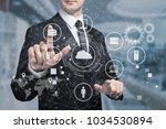 business data analytics | Shutterstock . vector #1034530894
