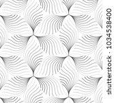 linear vector pattern ... | Shutterstock .eps vector #1034538400