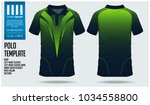 polo t shirt sport design... | Shutterstock .eps vector #1034558800