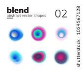 vector element with nice blend...   Shutterstock .eps vector #1034567128