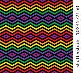 seamless abstract vector... | Shutterstock .eps vector #1034572150