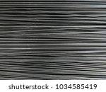 top view. many small iron wire... | Shutterstock . vector #1034585419