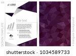 dark purple vector  layout for...