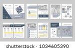 brochure creative design....   Shutterstock .eps vector #1034605390