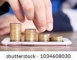 financial concept image | Shutterstock . vector #1034608030
