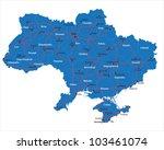 ukraine map isolated   Shutterstock .eps vector #103461074