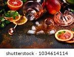 bar accessories  drink tools... | Shutterstock . vector #1034614114