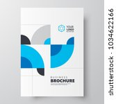 flyer brochure design template  ... | Shutterstock .eps vector #1034622166