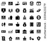flat vector icon set  ... | Shutterstock .eps vector #1034623279