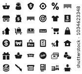 flat vector icon set   crisis... | Shutterstock .eps vector #1034623348