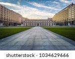 santiago de chile   july 08 ... | Shutterstock . vector #1034629666