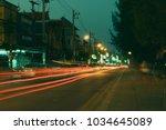 chiang mai thailand february 24 ... | Shutterstock . vector #1034645089
