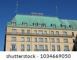 berlin  germany  april 21  2016 ...   Shutterstock . vector #1034669050