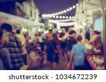 vintage tone blurred defocused... | Shutterstock . vector #1034672239