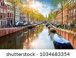 Channel In Amsterdam...