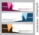 vector design banner...   Shutterstock .eps vector #1034691670