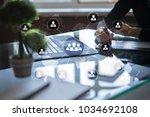 people organisation structure.... | Shutterstock . vector #1034692108