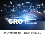 conversion rate optimization ... | Shutterstock . vector #1034692180