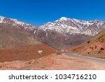 high atlas also called the...   Shutterstock . vector #1034716210