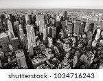 aerial view of midtown...   Shutterstock . vector #1034716243