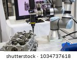 industry 4.0 robot concept .the ... | Shutterstock . vector #1034737618