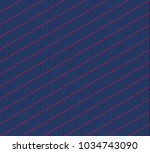 isometric grid. vector seamless ... | Shutterstock .eps vector #1034743090