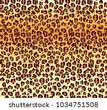 vector leopard texture. vector...   Shutterstock .eps vector #1034751508