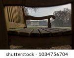 View Through A Park Bench....
