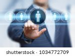 human resources hr management... | Shutterstock . vector #1034772709