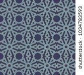 seamless abstract arabic...   Shutterstock .eps vector #1034783593