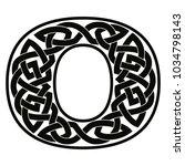 letter of the english alphabet... | Shutterstock .eps vector #1034798143