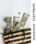 millions of indians rupee cash... | Shutterstock . vector #1034798650