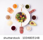 """salad """"collect it yourself""""   Shutterstock . vector #1034805148"""