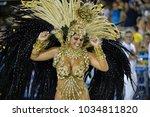 rio  brazil   february 09  2018 ... | Shutterstock . vector #1034811820