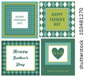 A Set Of Four Greeting Cards...
