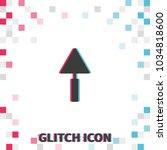 trowel  glitch effect vector...