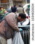 new york ny 22 april 2015 a... | Shutterstock . vector #1034820034
