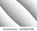 abstract halftone wave dotted... | Shutterstock .eps vector #1034829106