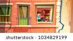 vector illustration section of... | Shutterstock .eps vector #1034829199