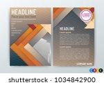 vector illustration of abstract ... | Shutterstock .eps vector #1034842900