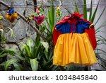 concept  trick or treat.... | Shutterstock . vector #1034845840
