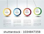 infographic vector option... | Shutterstock .eps vector #1034847358