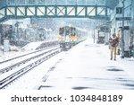 london road railway station ... | Shutterstock . vector #1034848189