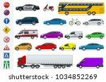 flat high quality city... | Shutterstock .eps vector #1034852269